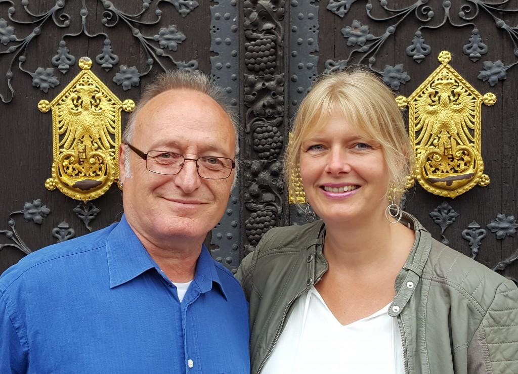 Peter Rutke und Andrea Peers
